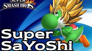 [GLITCH] Yoshi – Super SaYoShi (DownB) (Smash Wii U/3DS)
