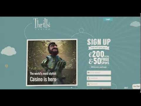 Thrills mobile casino ipad iphone android 50 FREE SPINS
