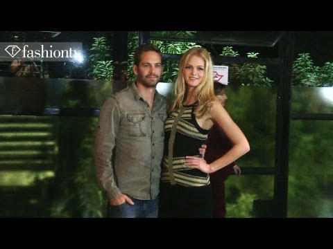 Colcci - Colcci Spring/Summer 2014 BACKSTAGE ft. Paul Walker, Izabel Goulart | Sao Paulo Fashion Week http://www.FashionTV.com/videos SAO PAULO - FashionTV is behind-...