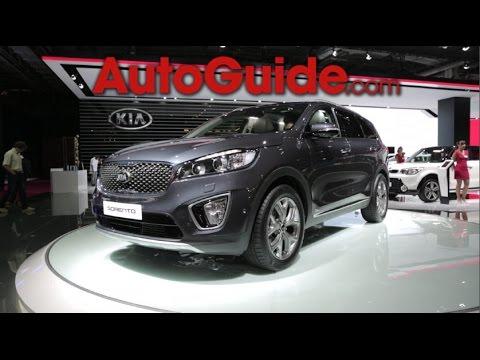 2016 Kia Sorento – 2014 Paris Motor Show