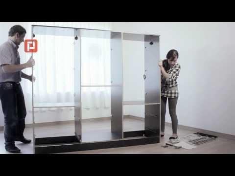 Videos relacionados con armar ropero melamina 6 puertas