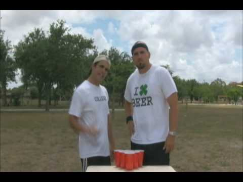 HOW TO PLAY BEER PONG LIKE A CHAMPION!!