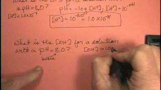 Video What is the [OH-] for a solution with a pH of 8.0? MP3, 3GP, MP4, WEBM, AVI, FLV September 2018