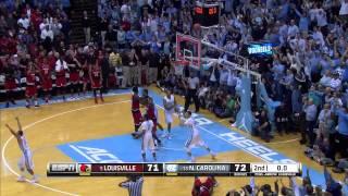 UNC Men's Basketball: Marcus Paige Game-Winning Layup vs. UL