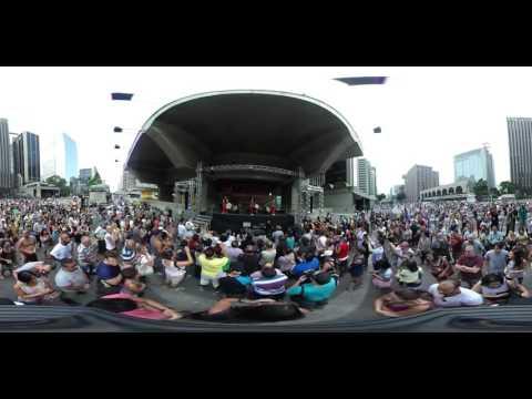 Imagem: #DomingoNaPaulista – Wadaiko Sho (Vídeo 360°)