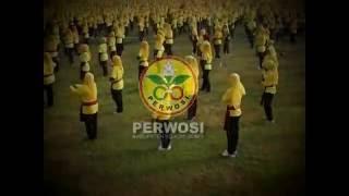 Senam Budaya Kolosal PERWOSI Bojonegoro
