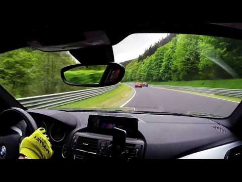 BMW 120d Nurburgring | 20.05.2016 Nordschleife Slippery start (видео)