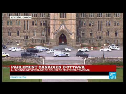 un - Abonnez-vous à notre chaîne sur YouTube : http://f24.my/youtube CANADA - Au moins une vingtaine de coups de feu ont été tirés ce 22 octobre dans l'enceinte du Parlement canadien d'Ottawa...