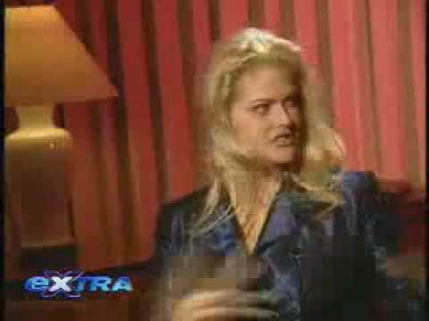 Anna Nicole on Extra (sober)