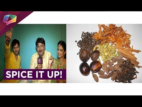 Diya Aur Baati Hum cast on a Spicy Fun mode