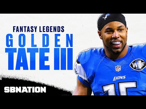 Video: Golden Tate's huge fantasy day against the Saints in 2014