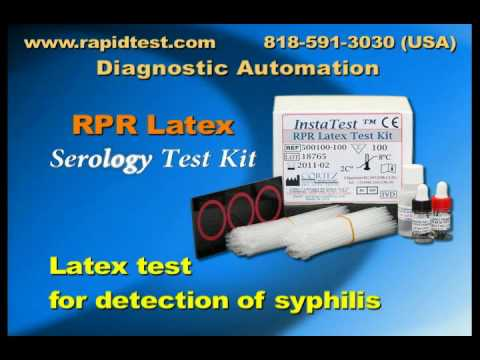 RPR (Rapid Plasma Reagin) Serology kit