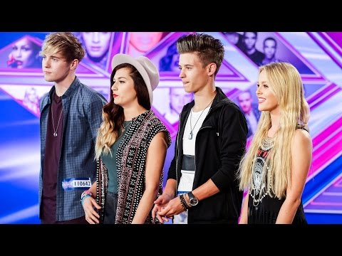 Tonight - Visit the official site: http://itv.com/xfactor Meet Mikey, Betsy, Parisa and Charlie, four best friends who sing, dance and live together... yes live together! But can this foursome get past...