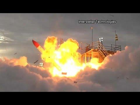 Japanische Rakete: Fehlstart auf Hokkaido, Flugkörper h ...