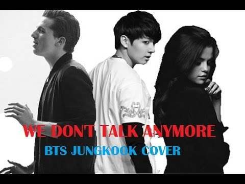BTS's Jungkook - We Don't Talk Anymore Cover (ft.Charlie Puth & Selena Gomez) Full Fanmade Ver.