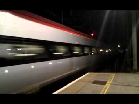 Two Virgin Pendolino trains Coupled On Test