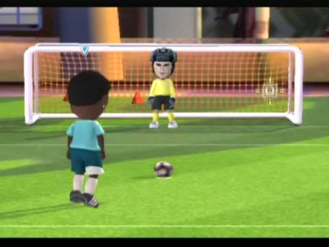 Fifa 09 8 vs 8 mii play (little segment to show u how it's like)