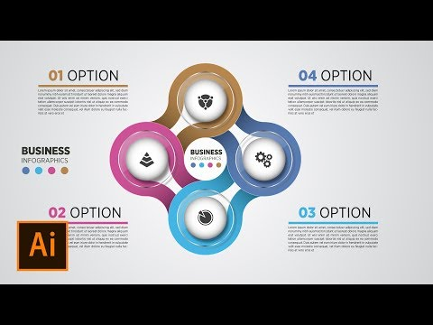 Adobe Illustrator Tutorial  Business Infographics  Graphic Design