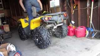 1. Two Brothers 2012-2013 Can am Outlander 800r or 1000 muffler sound
