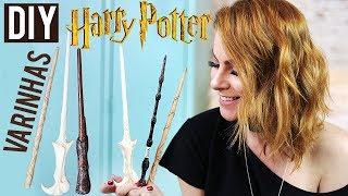 DIY :: Varinhas Harry Potter! Faça Você MESMO! COMPARTILHEE!! ;)