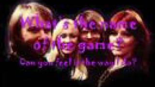 [Lyrics] ABBA-The Name of the Game
