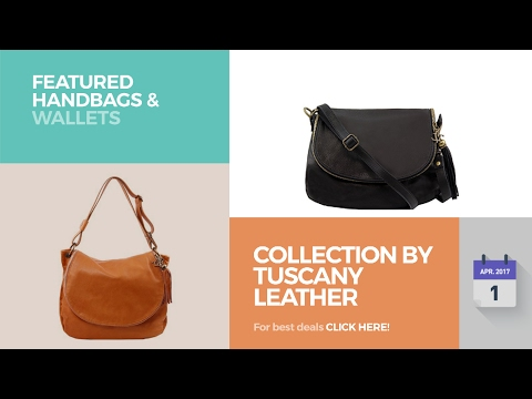 Collection By Tuscany Leather Featured Handbags & Wallets