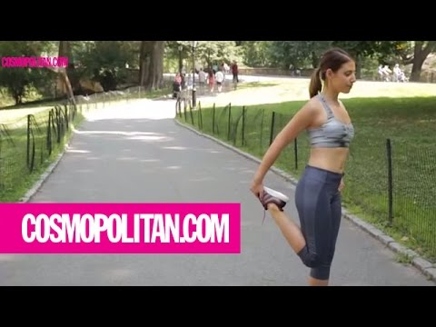 This Woman Worked Out In A Sports Bra For One Week | Cosmopolitan