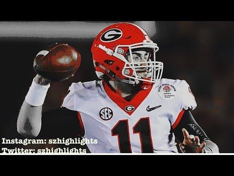 Jake Fromm    2017 Highlights ᴴᴰ    Georgia