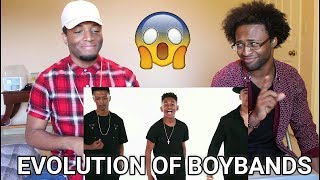Video Evolution of Boybands - Next Town Down (REACTION) MP3, 3GP, MP4, WEBM, AVI, FLV Juli 2018