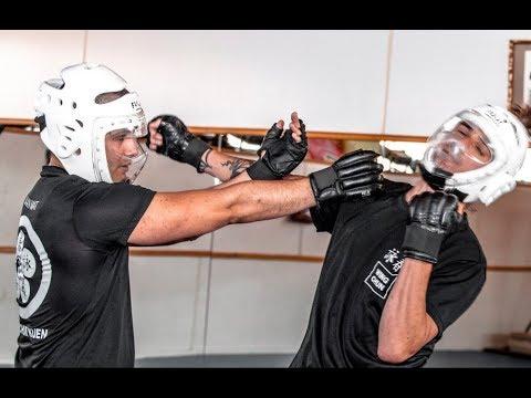 Aikido vs Wing Chun sparing (спарринги) 10.05.19