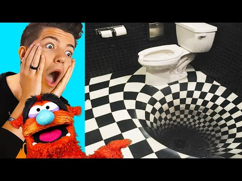 3D ILLUSIONS That Will TRICK Your Eyes!