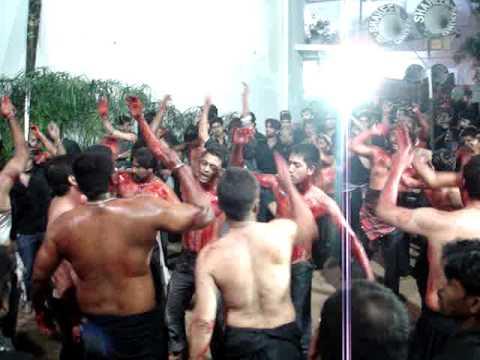 Hyderabad 10th Moharram(Ali Lodge) Irani Matam 2009-2010