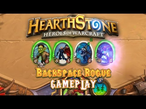 rogue website - A few games with the Backspace Rogue deck. Deck Spotlight Video: https://www.youtube.com/watch?v=3LnxcpgCTmo Hearthstone website: http://us.battle.net/hearthstone/en/ Force Strategy Gaming:...