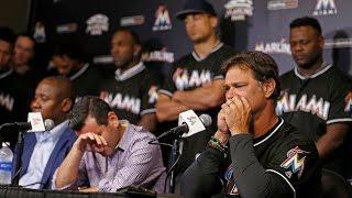Web Video Extra: Miami Marlins Press Conference Regarding Death Of Jose Fernandez