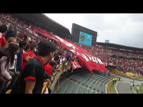 Inchada America en el campin bogota - Baron Rojo Sur - América de Cáli