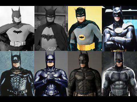 Batman skuespillere gennem tiderne