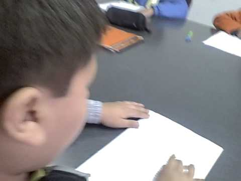 Niños en un taller de Lectura Veloz // Seminario de Lectura Veloz