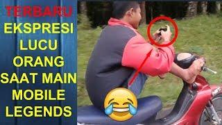 Ekspresi Lucu Orang Main Mobile Legends Part 3   Marah Marah, Bicara Kasar, Banting HP