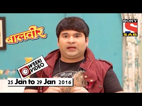 WeekiVideos | Baalveer | 25 Jan To 29 Jan 2016
