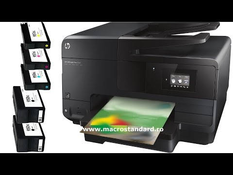 Reevaluare Multifunctionala HP Officejet Pro 8610 e-All-in-One