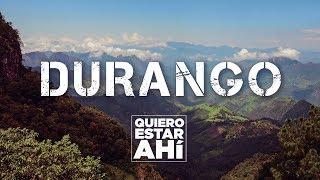 Enamórate de los atractivos más destacados de Durango, su gastronomía, bellezas naturales y su hermosa gente.Si te gustó el video ¡no olvides darle LIKE, COMPARTIRLO  y SUSCRIBIRTE:  http://goo.gl/0LtODu