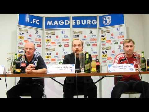 Video: Pressekonferenz - 1. FC Magdeburg - Holstein Kiel 1:1 (1:0)
