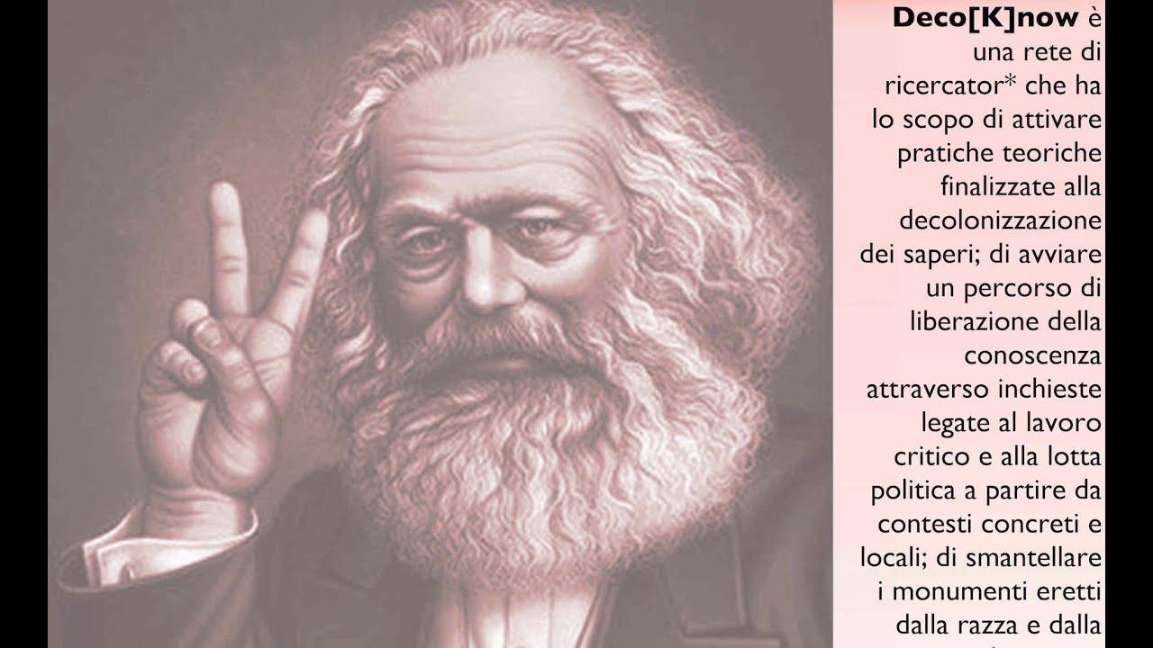 I seminari di DecoKnow: 1. Karl Marx, con Sandro Mezzadra