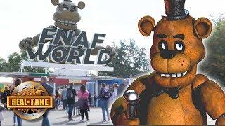 FNAF WORLD THEME PARK - real or fake?