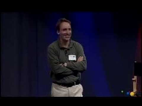 this - Linus Torvalds visits Google to share his thoughts on git, the source control management system he created two years ago.