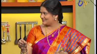 Abhiruchi - Aloo Capsicum Fry Youtube HD Video Online - ETV Telugu