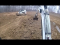 Creating Duck Impoundment MAJOR Success! Bobcat Excavator & Skid Steer Part 5 GETTING CLOSE!