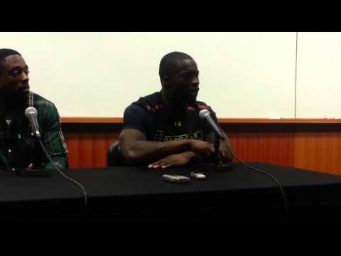 Kevin Pierre-Louis Interview 11/2/2013 video.