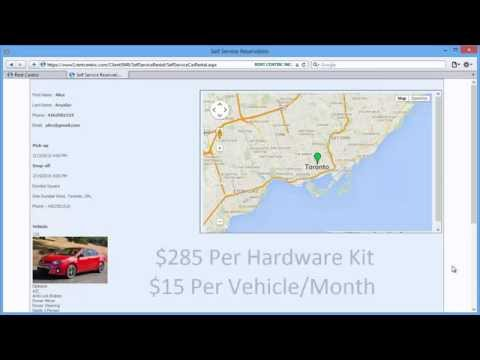 Rent Centric Self Service (On-Demand) Car Rental