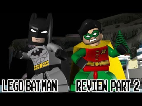 LEGO Batman Game Review Part 2 (Kwings)